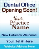 Dental Poster 2005 | New Patients & Referrals | Identity Namebrands Inc